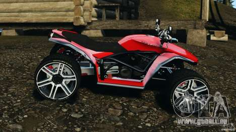 ATV PCJ Sport für GTA 4 linke Ansicht