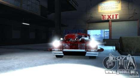 Apocalyptic Mustang Concept (Beta) pour GTA 4 Vue arrière de la gauche
