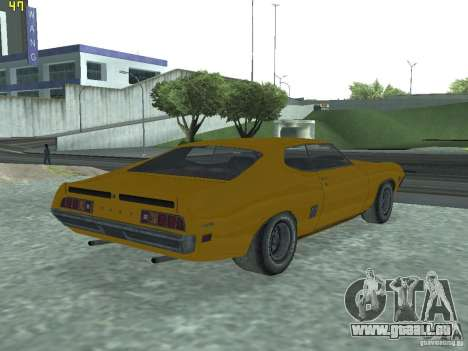 Ford Torino 70 pour GTA San Andreas laissé vue