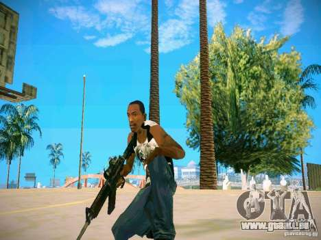Armes Pack HD pour GTA San Andreas septième écran