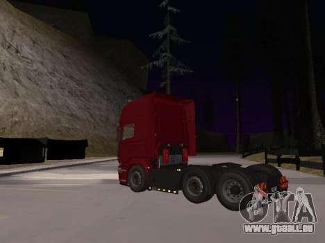 Scania 460 pour GTA San Andreas vue arrière