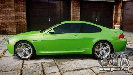 BMW M6 2010 v1.0 pour GTA 4 est une gauche