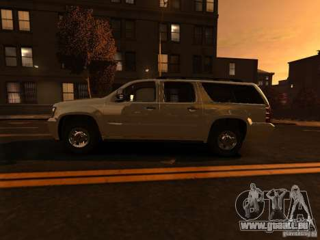 Chevrolet Suburban GMT900 2008 pour GTA 4 est une gauche