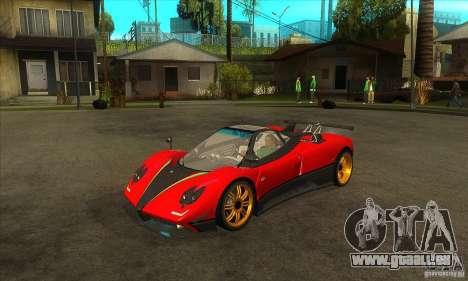 Pagani Zonda Tricolore V1 für GTA San Andreas