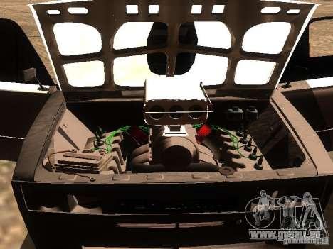 VAZ 2106 Drag Racing für GTA San Andreas obere Ansicht
