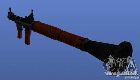 Weapons Retex pour GTA 4 cinquième écran