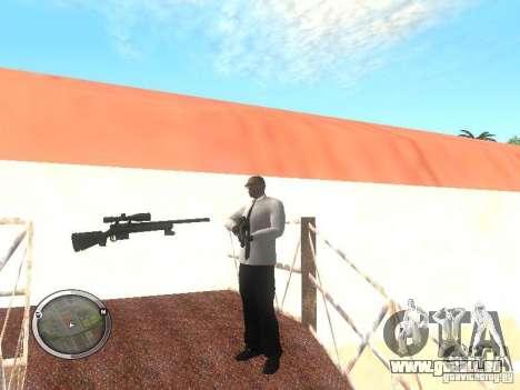 Sniper - Forest Camouflage pour GTA San Andreas quatrième écran