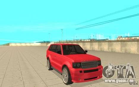 Huntley Sport de GTA 4 pour GTA San Andreas