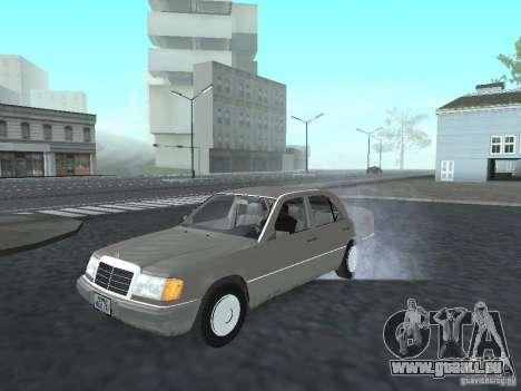 Mercedes-Benz 250D pour GTA San Andreas laissé vue