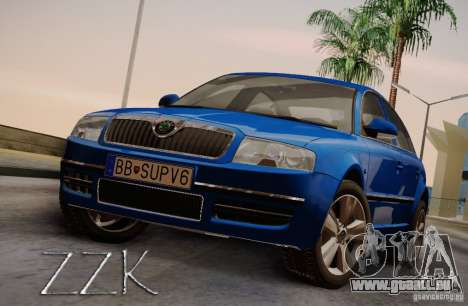 Skoda Superb 2006 für GTA San Andreas