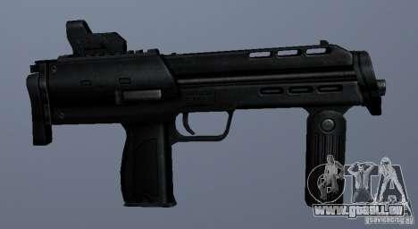 MP7 pour GTA San Andreas quatrième écran