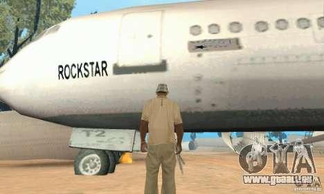 Base of CJ mod pour GTA San Andreas cinquième écran