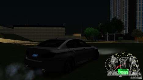 Compteur de vitesse VAZ 2110 pour GTA San Andreas troisième écran
