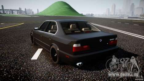 BMW 5 Series E34 540i 1994 v3.0 für GTA 4 hinten links Ansicht
