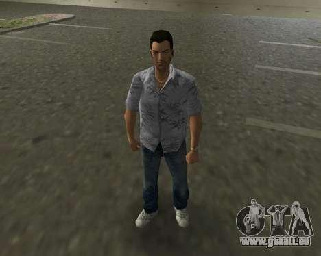 Graues shirt für GTA Vice City