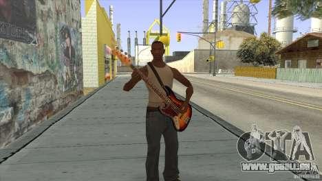 Chansons de films à la guitare pour GTA San Andreas onzième écran