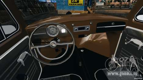 Volkswagen Fusca Gran Luxo v2.0 pour GTA 4 Vue arrière
