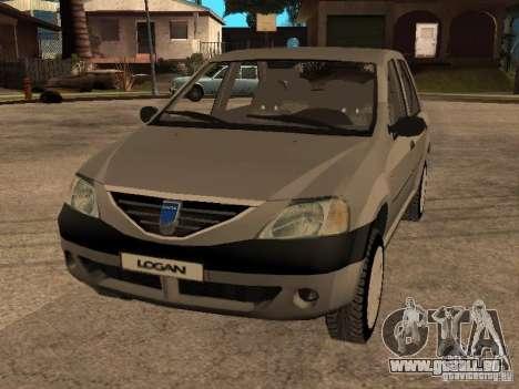 Dacia Logan 1.6 für GTA San Andreas Seitenansicht