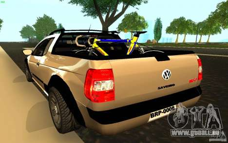 Volkswagen Saveiro pour GTA San Andreas laissé vue