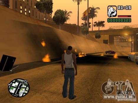 Kyubi-Bomb pour GTA San Andreas deuxième écran