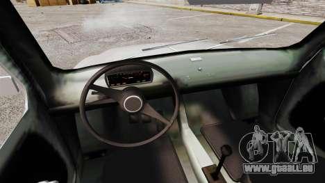 Zastava 750 pour GTA 4 est une vue de l'intérieur