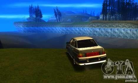 LADA 21103 v2.0 pour GTA San Andreas laissé vue