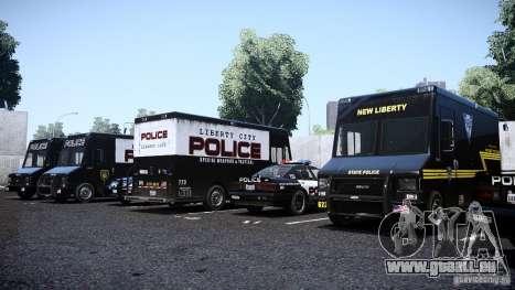 Boxville Police pour GTA 4 est un droit