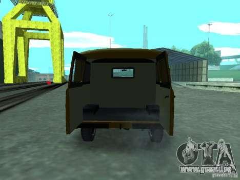UAZ 3909 für GTA San Andreas Innenansicht