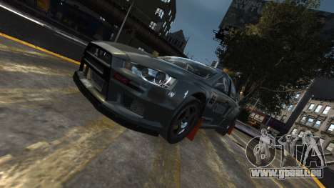 Mitsubishi Lancer Evolution für GTA 4