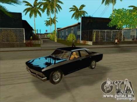 Chevrolet Chevelle pour GTA San Andreas