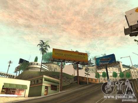 Die neue Werbung für die Mode für GTA San Andreas dritten Screenshot