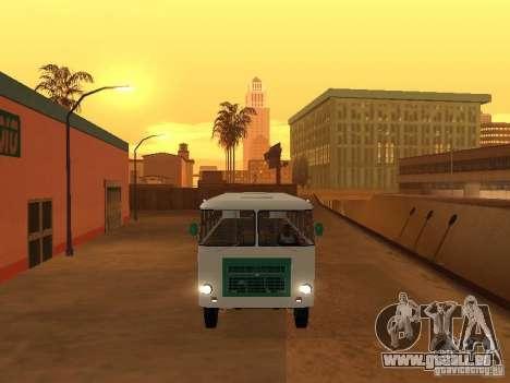 Kuban G1A1 pour GTA San Andreas sur la vue arrière gauche