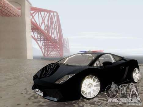 Lamborghini Gallardo LP-560 Police für GTA San Andreas