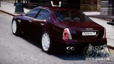 Maserati Quattroporte V für GTA 4 rechte Ansicht