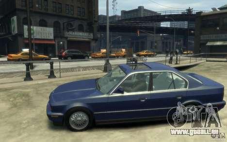 BMW 535i (E34) für GTA 4 linke Ansicht