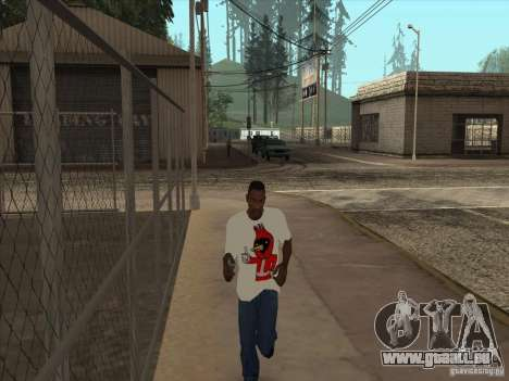 Omsk bird t-shirt für GTA San Andreas