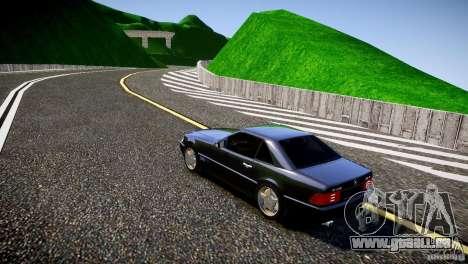 Mercedes SL 500 AMG 1995 pour GTA 4 Vue arrière de la gauche