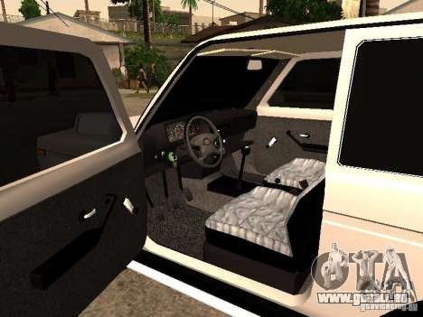 Armenian NIVA DORJAR 4 x 4 pour GTA San Andreas vue arrière