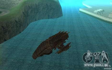Starship Predator von die Spiel Aliens Vs Predat für GTA San Andreas