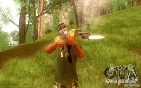 Kalaschnikow HD für GTA San Andreas sechsten Screenshot
