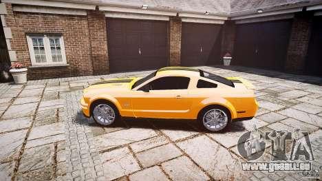 Shelby GT 500 KR 2008 K.I.T.T. für GTA 4 linke Ansicht