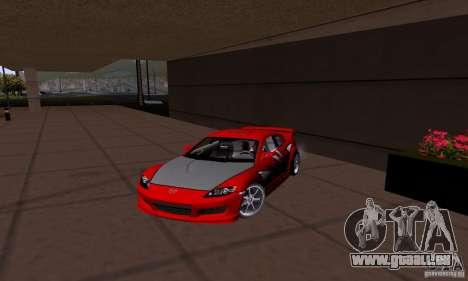 Mazda RX-8 Speed pour GTA San Andreas laissé vue