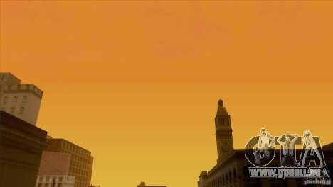 BM Timecyc v1.1 Real Sky pour GTA San Andreas douzième écran
