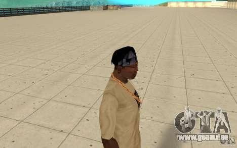 Verre bandana pour GTA San Andreas deuxième écran
