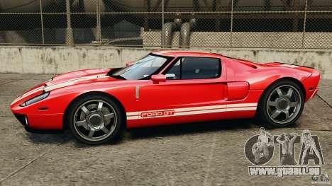 Ford GT 2005 v1.0 pour GTA 4 est une gauche