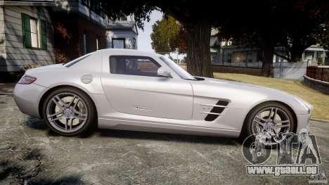 Mercedes-Benz SLS AMG 2010 [EPM] pour GTA 4 est un côté