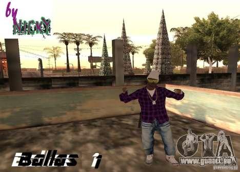 Pak Skins Ballas für GTA San Andreas