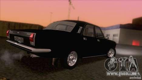 Volga GAZ 24-10 für GTA San Andreas Unteransicht