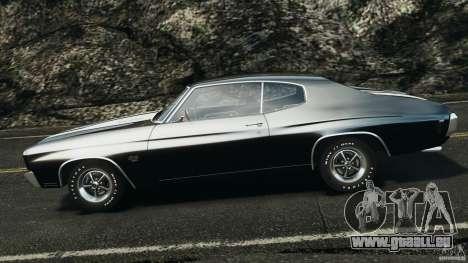 Chevrolet Chevelle SS 1970 v1.0 pour GTA 4 est une gauche