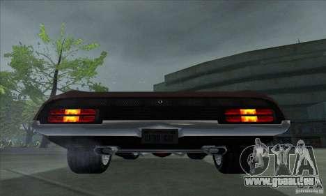 Ford Falcon GT Pursuit Special V8 Interceptor pour GTA San Andreas vue de droite